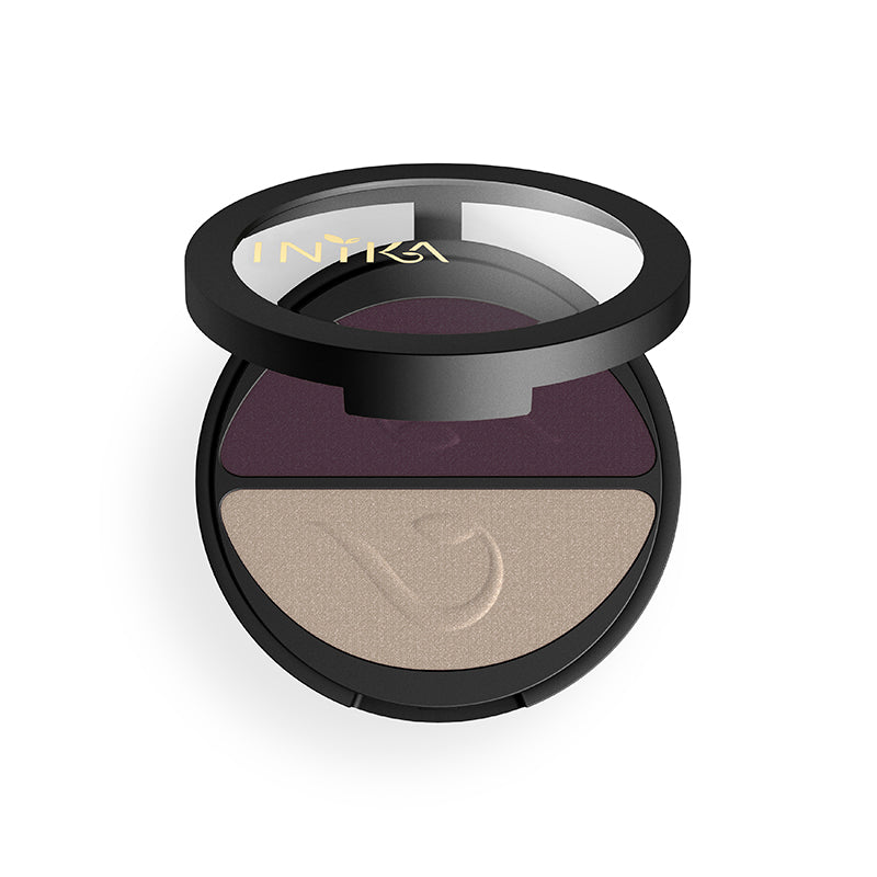 Pressed Mineral Eyeshadow Duo - Green Core Naturals