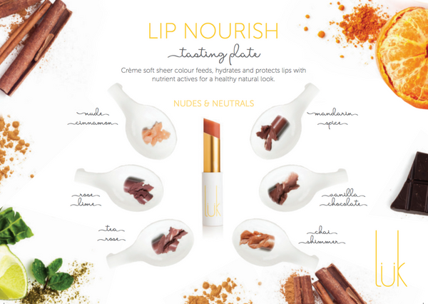 Lip Nourish Tasting Plate Nudes - Women's Beauty Accessories 2020