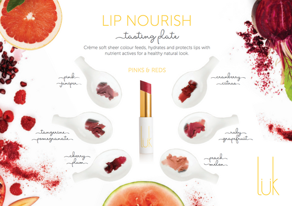 Luk Beautifood Lip Nourish Tasting Plate - Women's Makeup Accessories