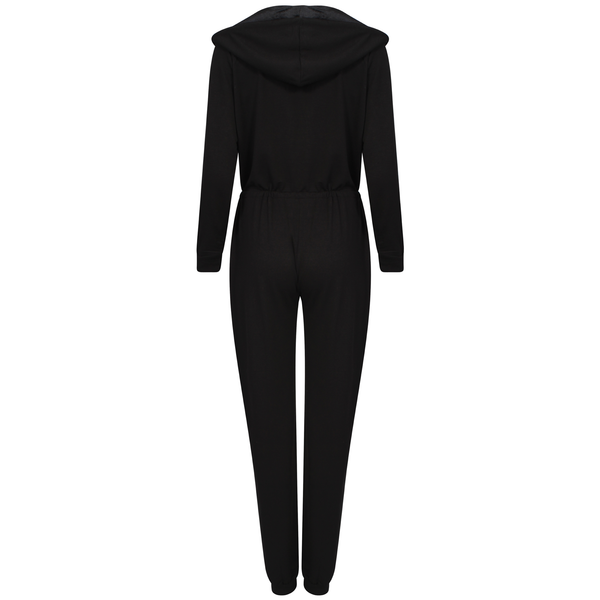 Bronzie 'Chelsea' Fake Tan Jumpsuit - Black Suit For Women's