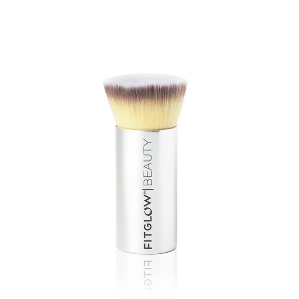 Vegan Teddy Foundation Brush - Green Core Naturals