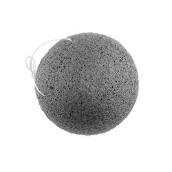 Konjac Facial Sponge with Bamboo Charcoal - Green Core Naturals