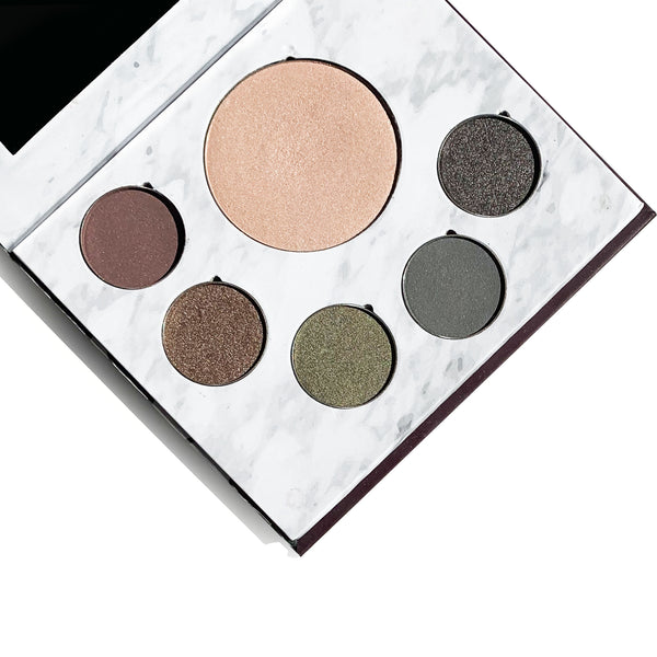 Green Beauty Glam Makeup Palette - Green Core Naturals