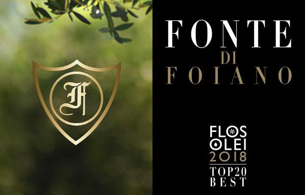 500 ml Ex Virgin Oliveto Fonte di Foiano Grand Cru, Tuscany