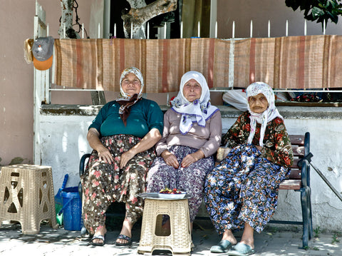 Turkish Village Old Ladies