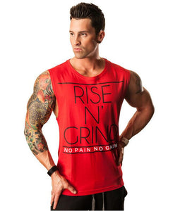 Rise N' Grind Tank Top For Men