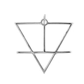 Alchemical Earth Pendant - Fiyah Jewellery - 1