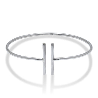Paralines Bangle - Fiyah Jewellery - 1