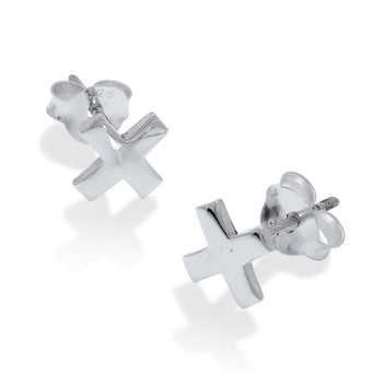 X's Always Win Studs - Fiyah Jewellery - 1