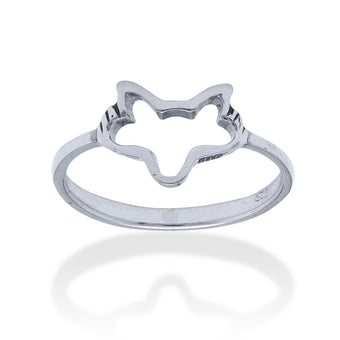 The Arctic Fox Ring - Fiyah Jewellery - 1