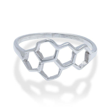 Honeycomb Ring - Fiyah Jewellery - 1