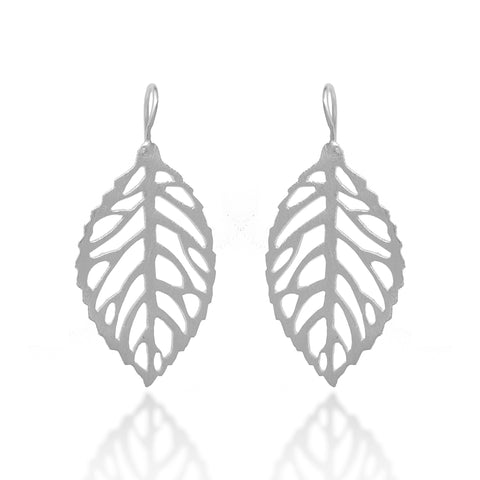 Beech Leaf Earrings - FIYAH.fr