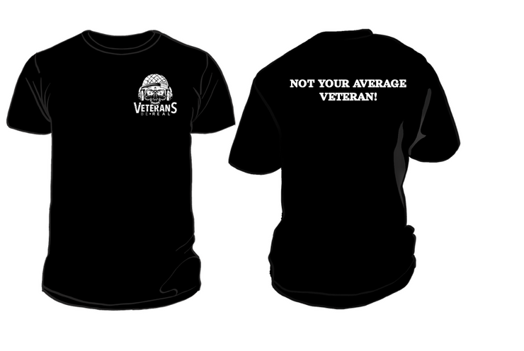 Not your Average Veteran Men's T-Shirt - Veteran Support Store