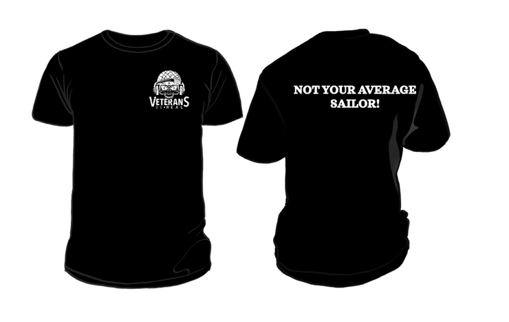 Not your Average Sailor Men's T-Shirt - Veteran Support Store