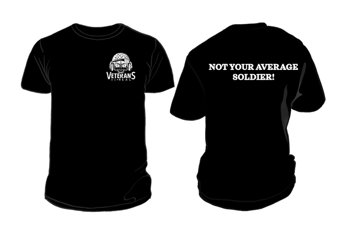Not Your Average Soldier Men's T-Shirt - Veteran Support Store