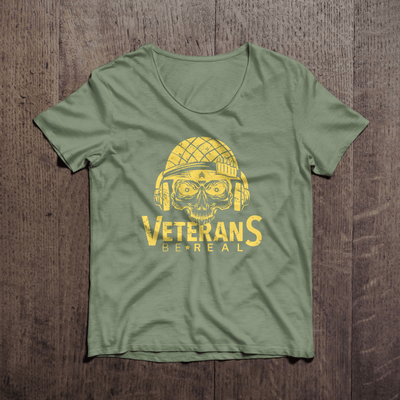 Veterans Be Real Ammo-Can Women's T-Shirt - Veteran Support Store