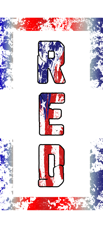 R.E.D Remember Everyone Deployed Men's T-Shirt - Veteran Support Store