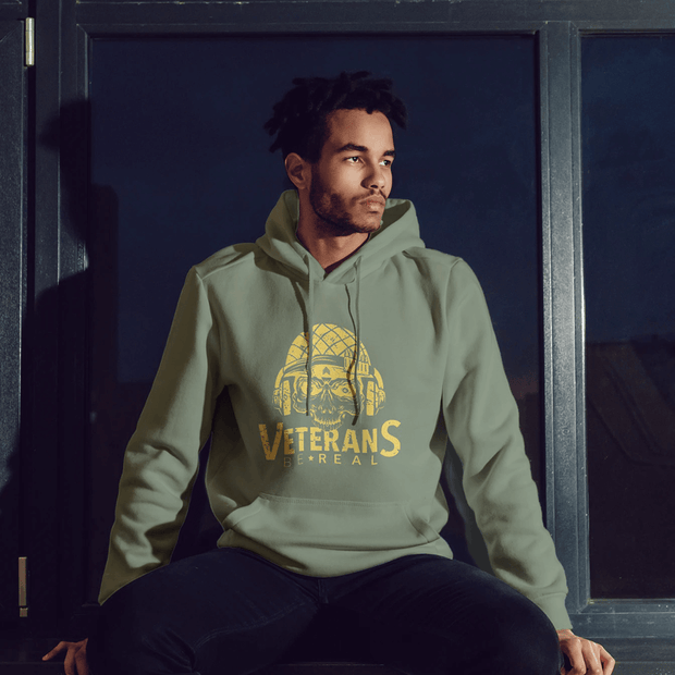 Veterans Be Real Ammo-Can Hoodie - Veteran Support Store