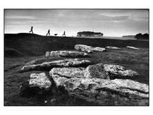 Arbor low prehistoric stone circle near Ashbourne, Derbyshire, 1976