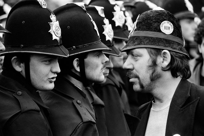 Battle of Orgreave, South Yorkshire, 1984