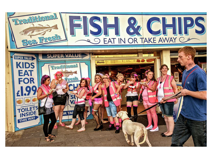 'Fish & Chips' 2012, Blackpool, Stags Hens & Bunnies