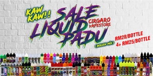 ORIGINAL E LIQUID | E JUICE | MURAH | CHEAPEST IN MARKET | Ready Stock !!