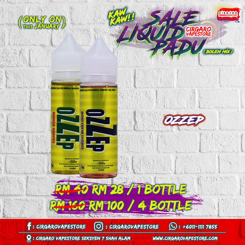 ozzep e liquid e juice online walk in seksyen 7 shah alam cheapest in town