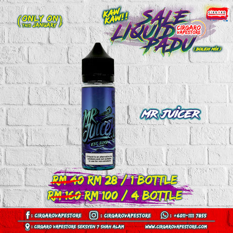 mr juicer e juice e liquid vape supply cheap ready stock shah alam