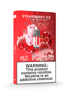 KILO 1K STRAWBERRY ICE PODS