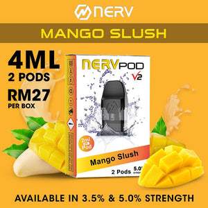 Nerv Pod Mini Mango Slush