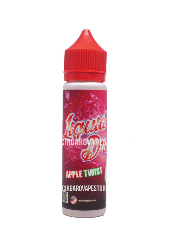 Liquid Drops - Apple Twist