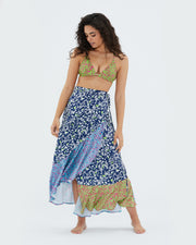 The Beach to Brunch Wrap Skirt