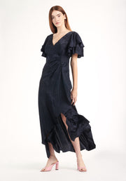 Tanya Taylor Clementine Dress Navy