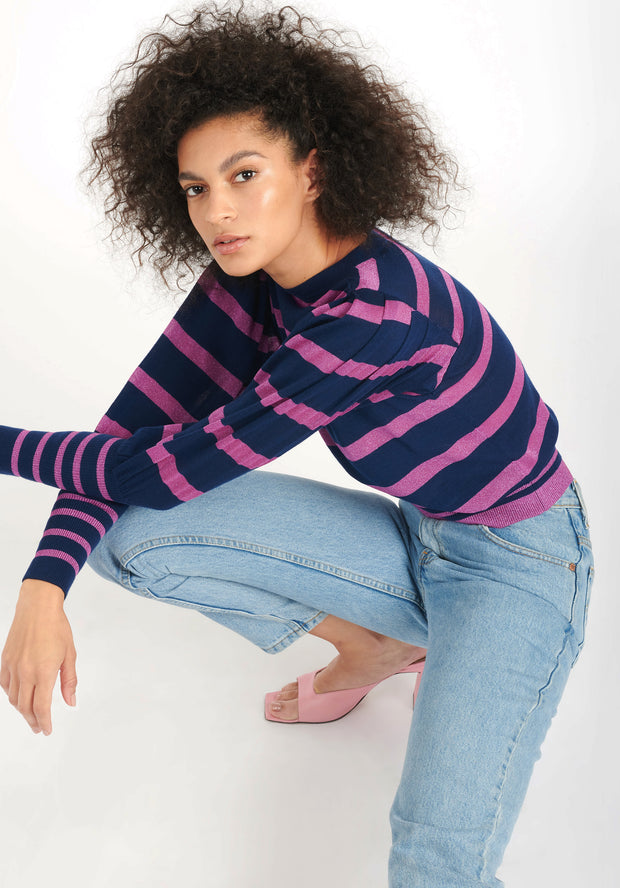 Tanya Taylor Colleen Knit Navy