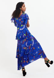 Tanya Taylor Back View Blue Janelle Dress