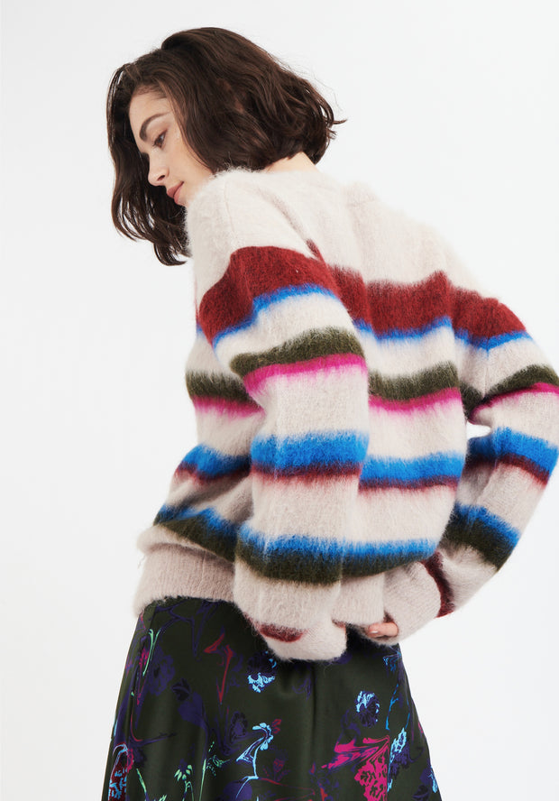 Tanya Taylor Stripe Sweater