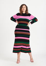 Tanya Taylor Velma Knit Dress Black