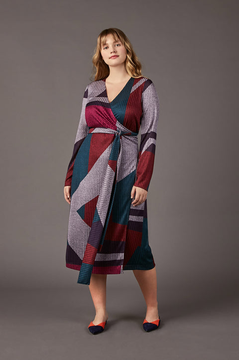 Tanya Taylor Ellie Dress, Extended Size - Front View