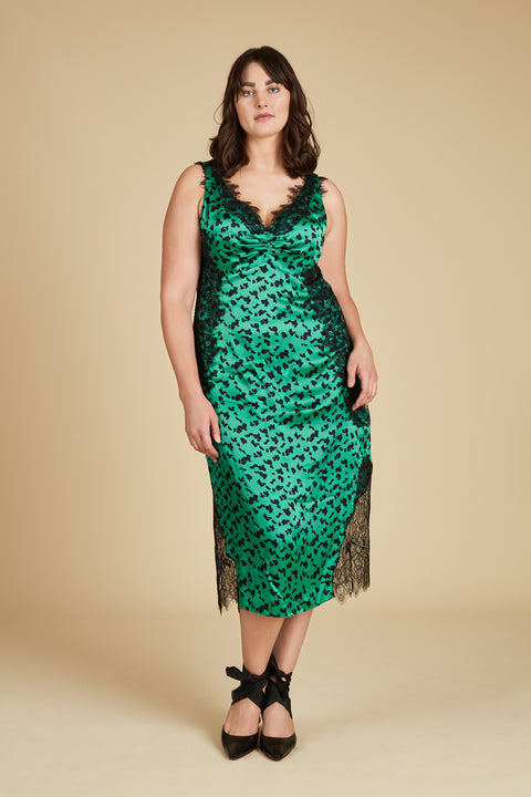 Tanya Taylor Irina Dress, Extended Size - Front View