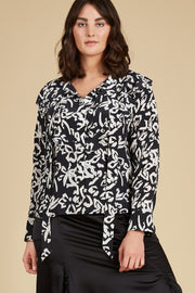 Tanya Taylor Layla Blouse - Front View