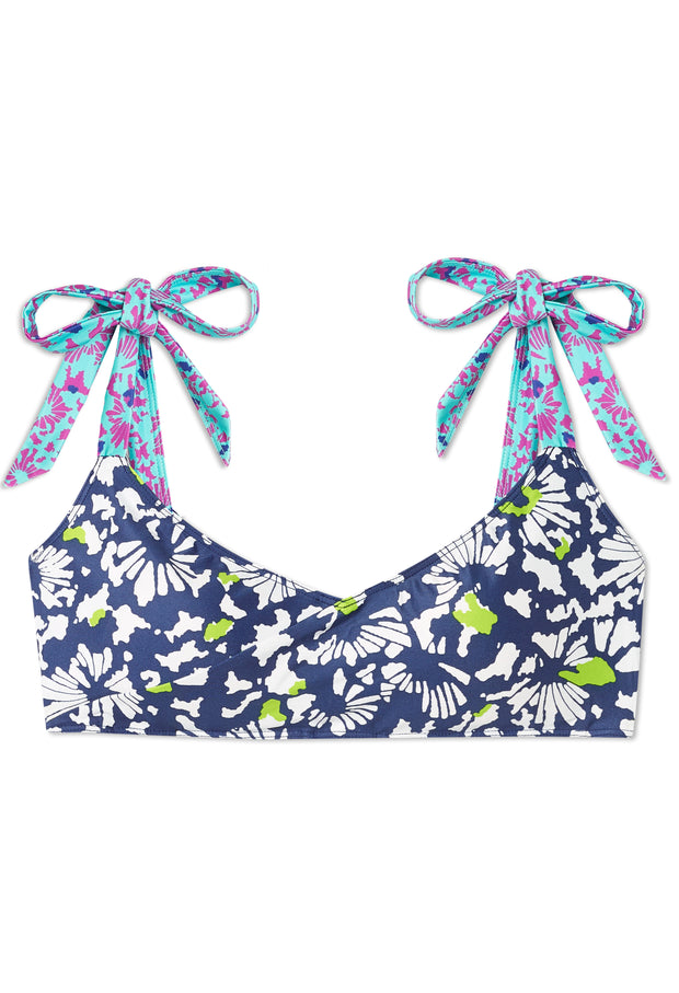 The Tie Marina Bikini Top