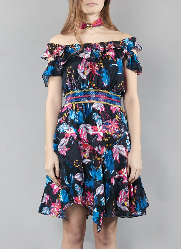 Tanya Taylor Meegan Dress in Garden Print
