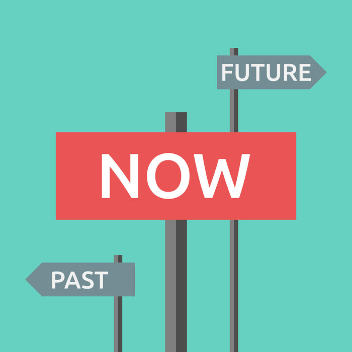 Living In the Past or Future Drains You from Living Today