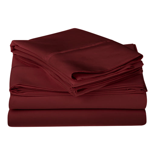 Egyptian Cotton Solid Deep Pocket Sheet Set