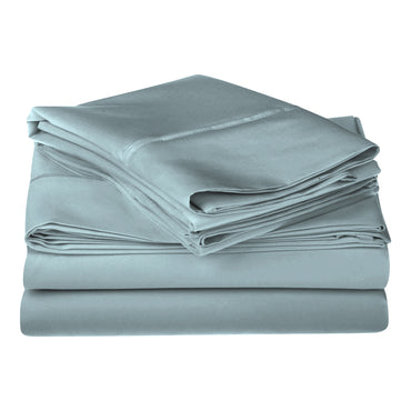 Luxurious 1200-Thread-Count Sheet Set, 100% Premium Long-Staple Cotton,10 Colors