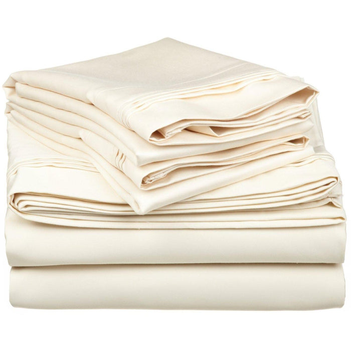 Egyptian Cotton Sheet Set, 1500-Thread Count, Sateen Weave