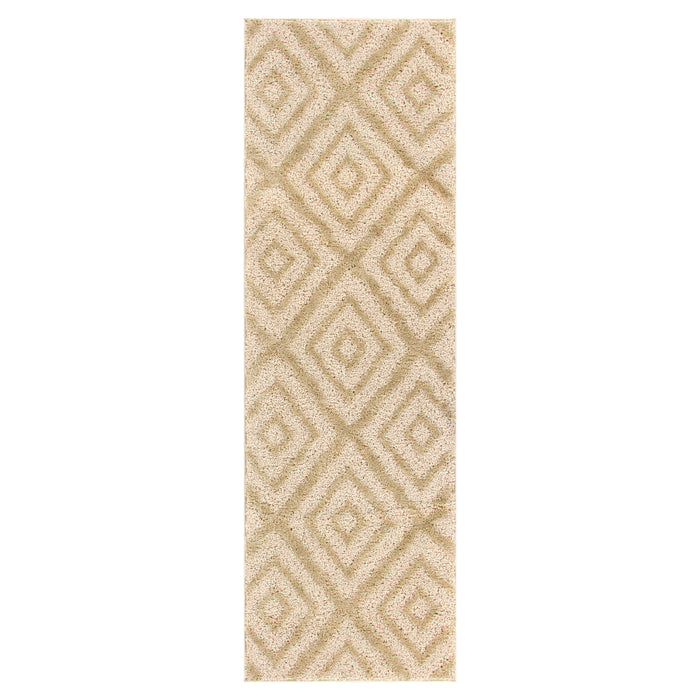 Kenza Indoor Area Rug, Geometric, Diamond Patterned, Transitional, Modern