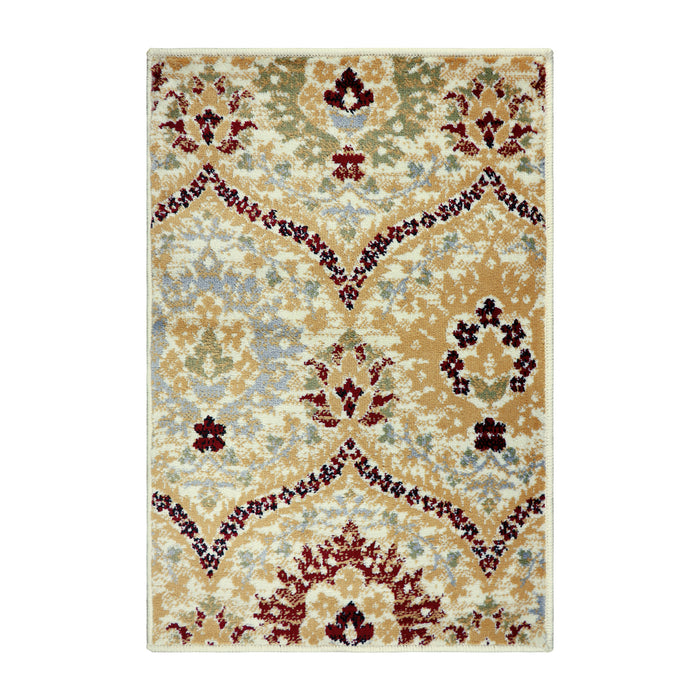 Alderwood Modern Floral Cabin Setting Area Rug