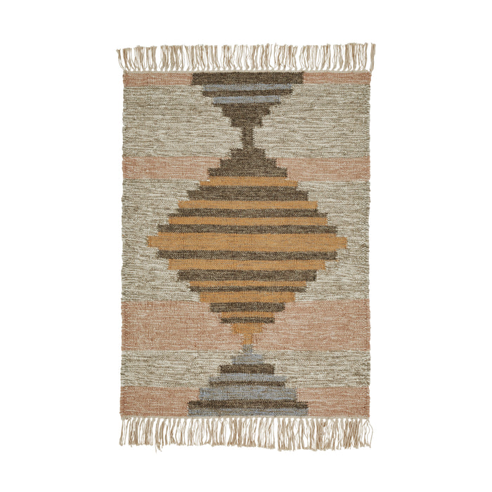Superior Sayah Hand Crafted Wool And Cotton Area Rug