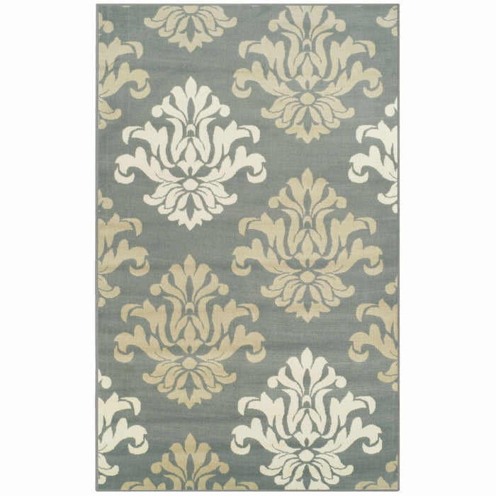 Avalon Vintage Floral Damask Area Rug
